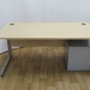 Maple 1600W x 800D Rectangular Desk