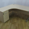 Imperial Maple 1600W x 1200D Left Hand Workstation