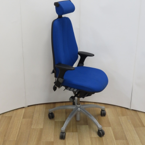 RH Logic 400 Ergonomic Chair with Headrest