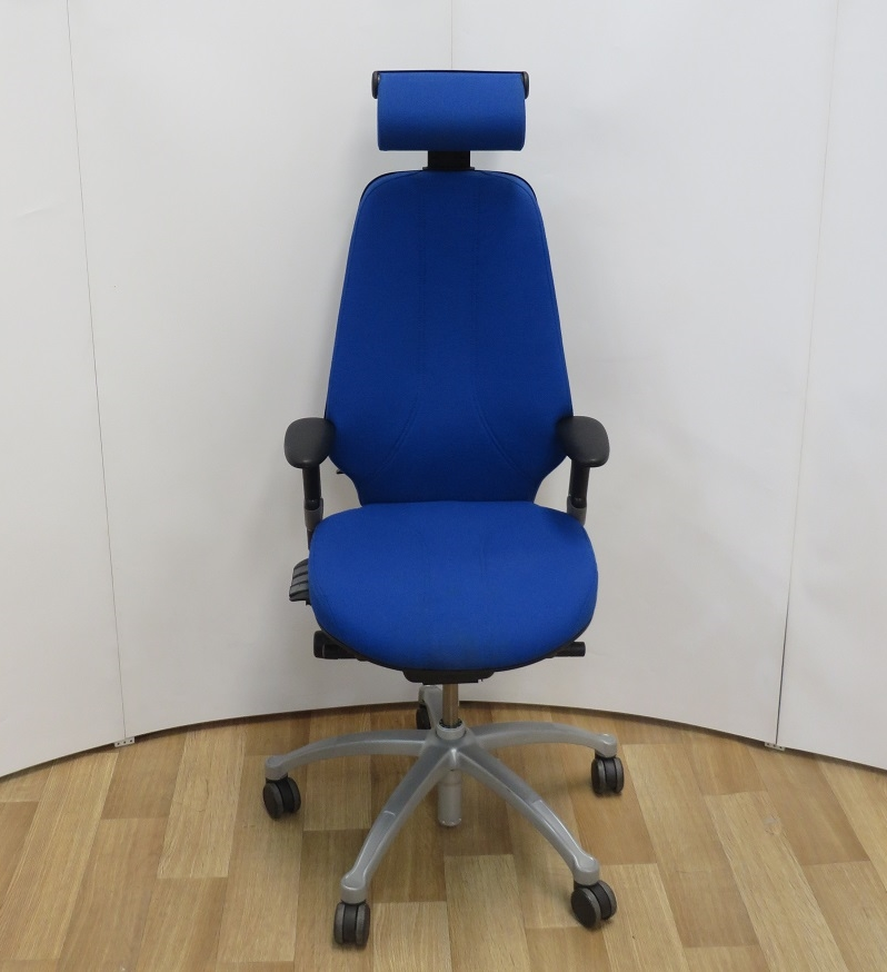 chair with headrest. rh logic 400 ergonomic chair with headrest