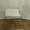 Wilkhahn Aline White Mesh Stacking Chair