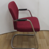 Pledge TAS TS24C Chrome Frame Stackable Cantilever Arm Chair